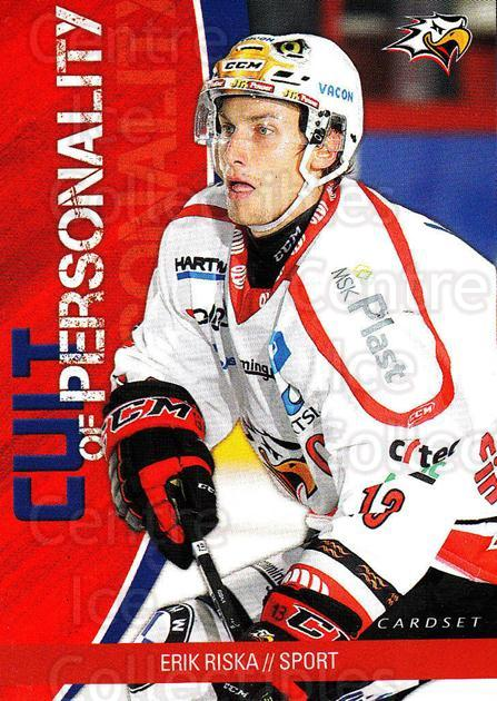 2014-15 Finnish Cardset Cult of Personality #11 Erik Riska<br/>2 In Stock - $3.00 each - <a href=https://centericecollectibles.foxycart.com/cart?name=2014-15%20Finnish%20Cardset%20Cult%20of%20Personality%20%2311%20Erik%20Riska...&quantity_max=2&price=$3.00&code=660522 class=foxycart> Buy it now! </a>