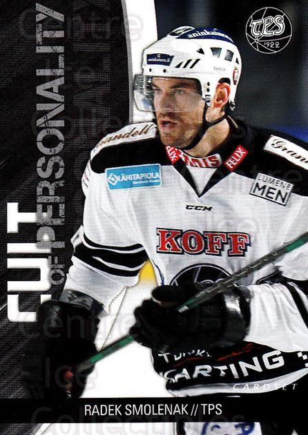 2014-15 Finnish Cardset Cult of Personality #13 Radek Smolenak<br/>2 In Stock - $3.00 each - <a href=https://centericecollectibles.foxycart.com/cart?name=2014-15%20Finnish%20Cardset%20Cult%20of%20Personality%20%2313%20Radek%20Smolenak...&quantity_max=2&price=$3.00&code=660524 class=foxycart> Buy it now! </a>