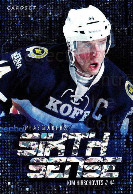 2014-15 Finnish Cardset Sixth Sense #1 Kim Hirschovits<br/>3 In Stock - $3.00 each - <a href=https://centericecollectibles.foxycart.com/cart?name=2014-15%20Finnish%20Cardset%20Sixth%20Sense%20%231%20Kim%20Hirschovits...&quantity_max=3&price=$3.00&code=660544 class=foxycart> Buy it now! </a>