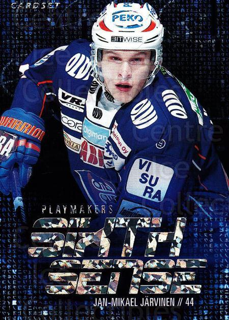 2014-15 Finnish Cardset Sixth Sense #12 Jan-Mikael Jarvinen<br/>2 In Stock - $3.00 each - <a href=https://centericecollectibles.foxycart.com/cart?name=2014-15%20Finnish%20Cardset%20Sixth%20Sense%20%2312%20Jan-Mikael%20Jarv...&quantity_max=2&price=$3.00&code=660555 class=foxycart> Buy it now! </a>