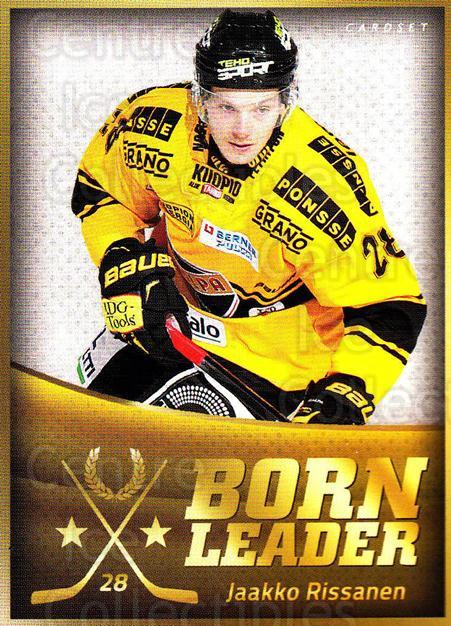 2015-16 Finnish Cardset Born Leader #6 Jaakko Rissanen<br/>1 In Stock - $3.00 each - <a href=https://centericecollectibles.foxycart.com/cart?name=2015-16%20Finnish%20Cardset%20Born%20Leader%20%236%20Jaakko%20Rissanen...&quantity_max=1&price=$3.00&code=660580 class=foxycart> Buy it now! </a>