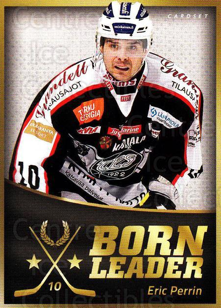 2015-16 Finnish Cardset Born Leader #14 Eric Perrin<br/>1 In Stock - $3.00 each - <a href=https://centericecollectibles.foxycart.com/cart?name=2015-16%20Finnish%20Cardset%20Born%20Leader%20%2314%20Eric%20Perrin...&quantity_max=1&price=$3.00&code=660588 class=foxycart> Buy it now! </a>