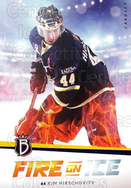 2015-16 Finnish Cardset Fire on Ice #1 Kim Hirschovits<br/>2 In Stock - $3.00 each - <a href=https://centericecollectibles.foxycart.com/cart?name=2015-16%20Finnish%20Cardset%20Fire%20on%20Ice%20%231%20Kim%20Hirschovits...&quantity_max=2&price=$3.00&code=660604 class=foxycart> Buy it now! </a>