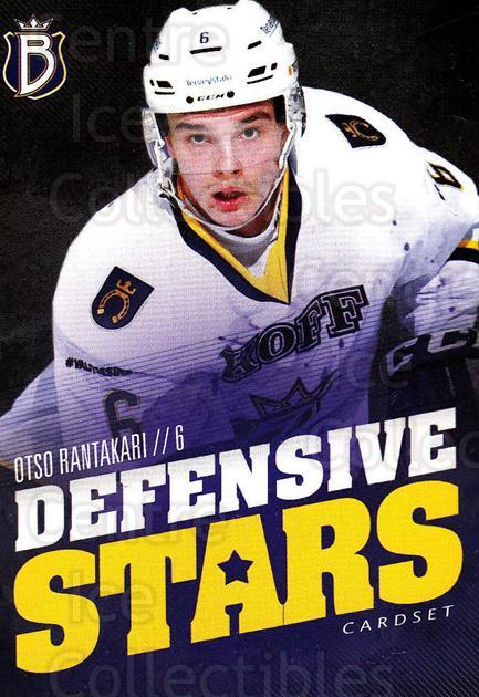 2015-16 Finnish Cardset Defensive Stars #1 Otso Rantakari<br/>1 In Stock - $3.00 each - <a href=https://centericecollectibles.foxycart.com/cart?name=2015-16%20Finnish%20Cardset%20Defensive%20Stars%20%231%20Otso%20Rantakari...&quantity_max=1&price=$3.00&code=660628 class=foxycart> Buy it now! </a>