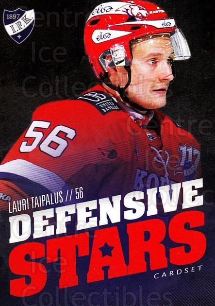 2015-16 Finnish Cardset Defensive Stars #2 Lauri Taipalus<br/>1 In Stock - $3.00 each - <a href=https://centericecollectibles.foxycart.com/cart?name=2015-16%20Finnish%20Cardset%20Defensive%20Stars%20%232%20Lauri%20Taipalus...&quantity_max=1&price=$3.00&code=660629 class=foxycart> Buy it now! </a>