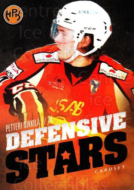 2015-16 Finnish Cardset Defensive Stars #3 Petteri Nikkila<br/>1 In Stock - $3.00 each - <a href=https://centericecollectibles.foxycart.com/cart?name=2015-16%20Finnish%20Cardset%20Defensive%20Stars%20%233%20Petteri%20Nikkila...&quantity_max=1&price=$3.00&code=660630 class=foxycart> Buy it now! </a>