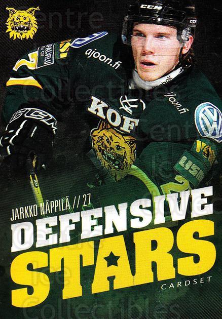 2015-16 Finnish Cardset Defensive Stars #4 Jarkko Nappila<br/>1 In Stock - $3.00 each - <a href=https://centericecollectibles.foxycart.com/cart?name=2015-16%20Finnish%20Cardset%20Defensive%20Stars%20%234%20Jarkko%20Nappila...&quantity_max=1&price=$3.00&code=660631 class=foxycart> Buy it now! </a>