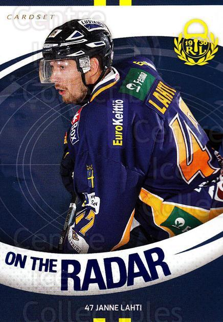 2015-16 Finnish Cardset On the Radar #8 Janne Lahti<br/>1 In Stock - $3.00 each - <a href=https://centericecollectibles.foxycart.com/cart?name=2015-16%20Finnish%20Cardset%20On%20the%20Radar%20%238%20Janne%20Lahti...&quantity_max=1&price=$3.00&code=660658 class=foxycart> Buy it now! </a>