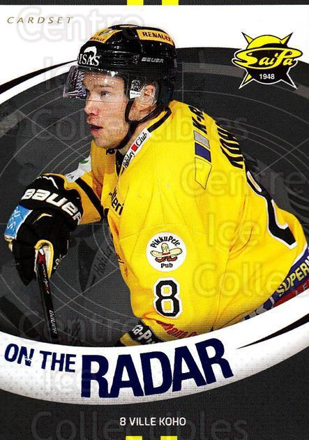 2015-16 Finnish Cardset On the Radar #10 Ville Koho<br/>1 In Stock - $3.00 each - <a href=https://centericecollectibles.foxycart.com/cart?name=2015-16%20Finnish%20Cardset%20On%20the%20Radar%20%2310%20Ville%20Koho...&quantity_max=1&price=$3.00&code=660660 class=foxycart> Buy it now! </a>