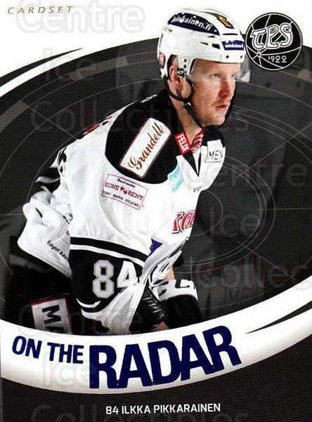 2015-16 Finnish Cardset On the Radar #13 Ilkka Pikkarainen<br/>1 In Stock - $3.00 each - <a href=https://centericecollectibles.foxycart.com/cart?name=2015-16%20Finnish%20Cardset%20On%20the%20Radar%20%2313%20Ilkka%20Pikkarain...&quantity_max=1&price=$3.00&code=660663 class=foxycart> Buy it now! </a>