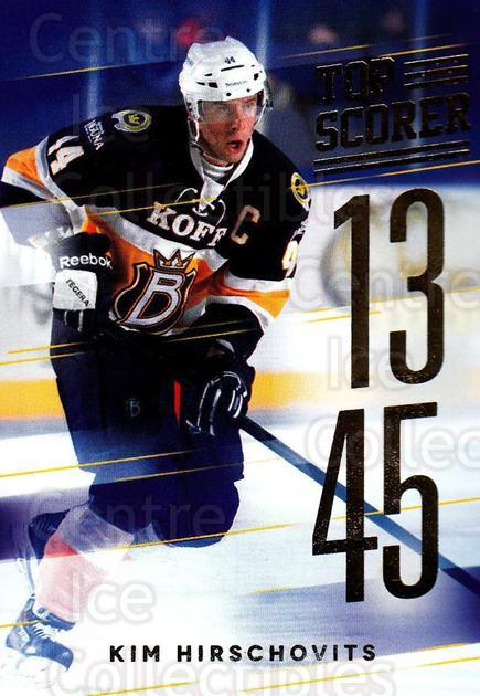 2015-16 Finnish Cardset Top Scorer #1 Kim Hirschovits<br/>1 In Stock - $3.00 each - <a href=https://centericecollectibles.foxycart.com/cart?name=2015-16%20Finnish%20Cardset%20Top%20Scorer%20%231%20Kim%20Hirschovits...&quantity_max=1&price=$3.00&code=660679 class=foxycart> Buy it now! </a>