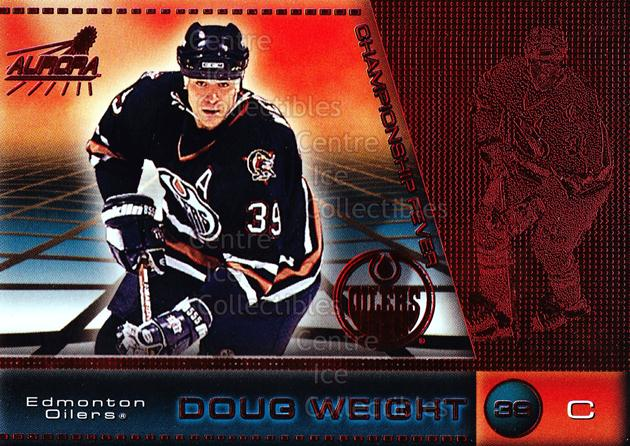 1998-99 Aurora Championship Fever Red #21 Doug Weight<br/>1 In Stock - $3.00 each - <a href=https://centericecollectibles.foxycart.com/cart?name=1998-99%20Aurora%20Championship%20Fever%20Red%20%2321%20Doug%20Weight...&quantity_max=1&price=$3.00&code=66071 class=foxycart> Buy it now! </a>