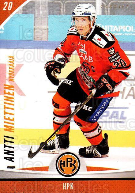 2015-16 Finnish Cardset #218 Antti Miettinen<br/>3 In Stock - $2.00 each - <a href=https://centericecollectibles.foxycart.com/cart?name=2015-16%20Finnish%20Cardset%20%23218%20Antti%20Miettinen...&quantity_max=3&price=$2.00&code=660730 class=foxycart> Buy it now! </a>