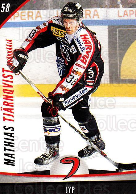 2015-16 Finnish Cardset #249 Mathias Tjarnqvist<br/>4 In Stock - $2.00 each - <a href=https://centericecollectibles.foxycart.com/cart?name=2015-16%20Finnish%20Cardset%20%23249%20Mathias%20Tjarnqv...&price=$2.00&code=660761 class=foxycart> Buy it now! </a>