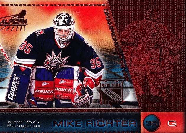 1998-99 Aurora Championship Fever Red #31 Mike Richter<br/>3 In Stock - $3.00 each - <a href=https://centericecollectibles.foxycart.com/cart?name=1998-99%20Aurora%20Championship%20Fever%20Red%20%2331%20Mike%20Richter...&quantity_max=3&price=$3.00&code=66079 class=foxycart> Buy it now! </a>