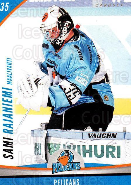 2015-16 Finnish Cardset #298 Sami Rajaniemi<br/>2 In Stock - $2.00 each - <a href=https://centericecollectibles.foxycart.com/cart?name=2015-16%20Finnish%20Cardset%20%23298%20Sami%20Rajaniemi...&quantity_max=2&price=$2.00&code=660810 class=foxycart> Buy it now! </a>