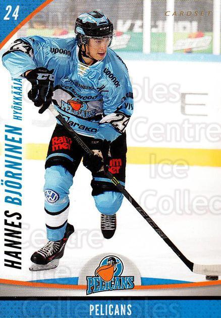 2015-16 Finnish Cardset #305 Hannes Bjorninen<br/>4 In Stock - $2.00 each - <a href=https://centericecollectibles.foxycart.com/cart?name=2015-16%20Finnish%20Cardset%20%23305%20Hannes%20Bjornine...&quantity_max=4&price=$2.00&code=660817 class=foxycart> Buy it now! </a>
