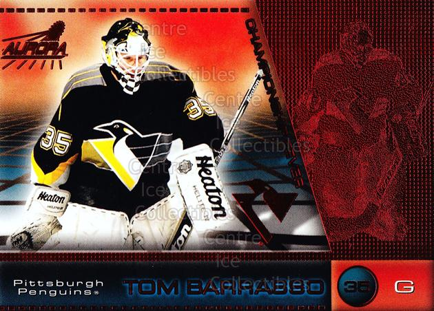 1998-99 Aurora Championship Fever Red #39 Tom Barrasso<br/>4 In Stock - $3.00 each - <a href=https://centericecollectibles.foxycart.com/cart?name=1998-99%20Aurora%20Championship%20Fever%20Red%20%2339%20Tom%20Barrasso...&price=$3.00&code=66087 class=foxycart> Buy it now! </a>