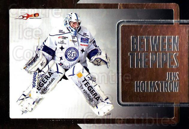 2011-12 Swedish Hockey Allsvenskan Between the Pipes #3 Jens Holmstrom<br/>2 In Stock - $3.00 each - <a href=https://centericecollectibles.foxycart.com/cart?name=2011-12%20Swedish%20Hockey%20Allsvenskan%20Between%20the%20Pipes%20%233%20Jens%20Holmstrom...&quantity_max=2&price=$3.00&code=660893 class=foxycart> Buy it now! </a>