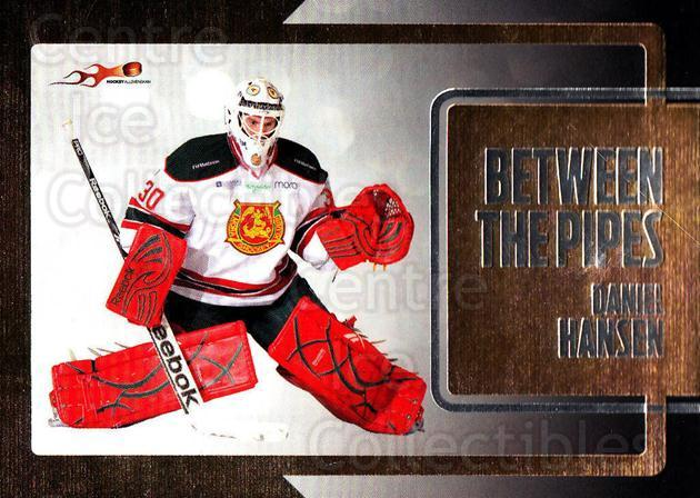 2011-12 Swedish Hockey Allsvenskan Between the Pipes #5 Daniel Hansen<br/>1 In Stock - $3.00 each - <a href=https://centericecollectibles.foxycart.com/cart?name=2011-12%20Swedish%20Hockey%20Allsvenskan%20Between%20the%20Pipes%20%235%20Daniel%20Hansen...&quantity_max=1&price=$3.00&code=660895 class=foxycart> Buy it now! </a>