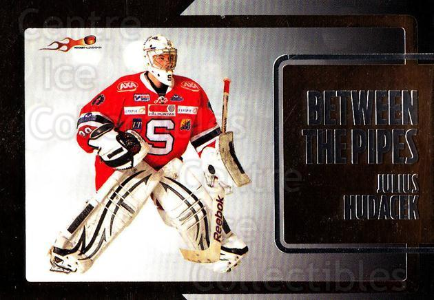 2011-12 Swedish Hockey Allsvenskan Between the Pipes #7 Julius Hudacek<br/>5 In Stock - $3.00 each - <a href=https://centericecollectibles.foxycart.com/cart?name=2011-12%20Swedish%20Hockey%20Allsvenskan%20Between%20the%20Pipes%20%237%20Julius%20Hudacek...&quantity_max=5&price=$3.00&code=660897 class=foxycart> Buy it now! </a>