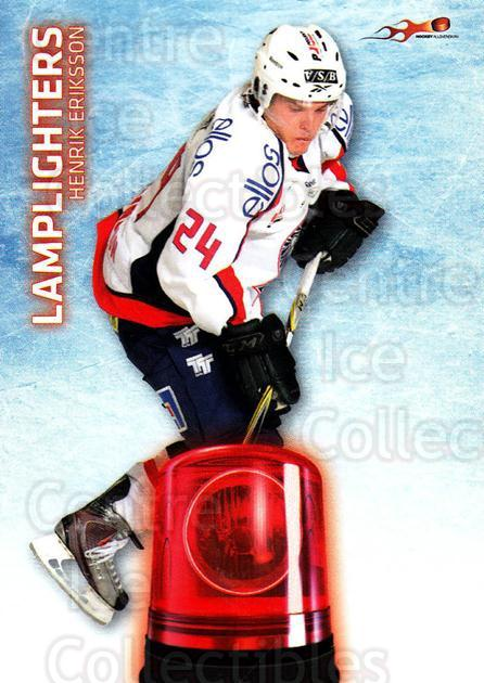2011-12 Swedish Hockey Allsvenskan Lamplighters #3 Henrik Eriksson<br/>1 In Stock - $3.00 each - <a href=https://centericecollectibles.foxycart.com/cart?name=2011-12%20Swedish%20Hockey%20Allsvenskan%20Lamplighters%20%233%20Henrik%20Eriksson...&quantity_max=1&price=$3.00&code=660913 class=foxycart> Buy it now! </a>