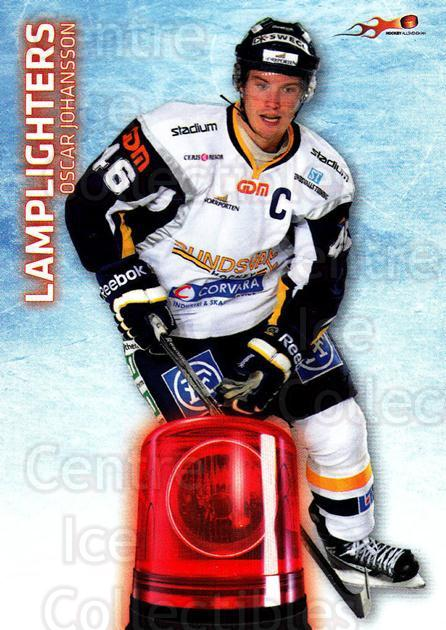 2011-12 Swedish Hockey Allsvenskan Lamplighters #9 Oscar Johansson<br/>1 In Stock - $3.00 each - <a href=https://centericecollectibles.foxycart.com/cart?name=2011-12%20Swedish%20Hockey%20Allsvenskan%20Lamplighters%20%239%20Oscar%20Johansson...&quantity_max=1&price=$3.00&code=660919 class=foxycart> Buy it now! </a>