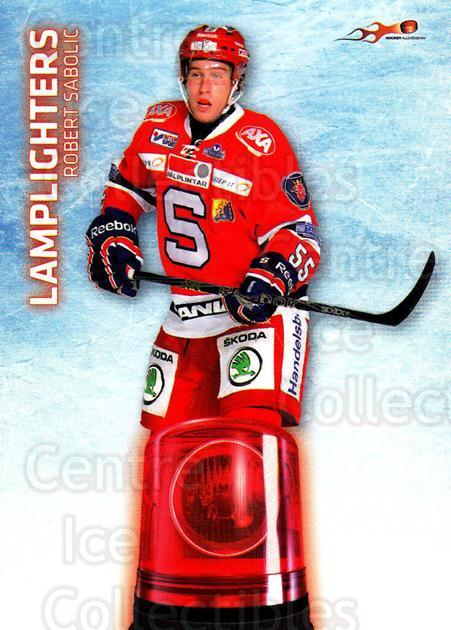 2011-12 Swedish Hockey Allsvenskan Lamplighters #10 Robert Sabolic<br/>5 In Stock - $3.00 each - <a href=https://centericecollectibles.foxycart.com/cart?name=2011-12%20Swedish%20Hockey%20Allsvenskan%20Lamplighters%20%2310%20Robert%20Sabolic...&quantity_max=5&price=$3.00&code=660920 class=foxycart> Buy it now! </a>