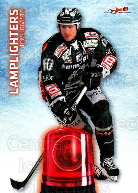 2011-12 Swedish Hockey Allsvenskan Lamplighters #11 Tom Koivisto<br/>4 In Stock - $3.00 each - <a href=https://centericecollectibles.foxycart.com/cart?name=2011-12%20Swedish%20Hockey%20Allsvenskan%20Lamplighters%20%2311%20Tom%20Koivisto...&quantity_max=4&price=$3.00&code=660921 class=foxycart> Buy it now! </a>