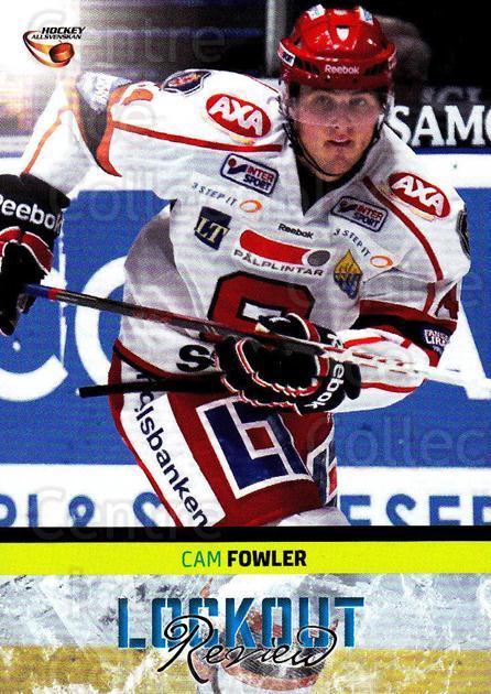 2013-14 Swedish Hockey Allsvenskan Lockout Review #12 Cam Fowler<br/>2 In Stock - $3.00 each - <a href=https://centericecollectibles.foxycart.com/cart?name=2013-14%20Swedish%20Hockey%20Allsvenskan%20Lockout%20Review%20%2312%20Cam%20Fowler...&price=$3.00&code=660964 class=foxycart> Buy it now! </a>
