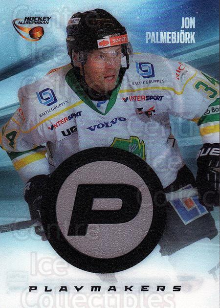 2013-14 Swedish Hockey Allsvenskan Playmakers #4 Jon Palmebjork<br/>2 In Stock - $3.00 each - <a href=https://centericecollectibles.foxycart.com/cart?name=2013-14%20Swedish%20Hockey%20Allsvenskan%20Playmakers%20%234%20Jon%20Palmebjork...&quantity_max=2&price=$3.00&code=660976 class=foxycart> Buy it now! </a>