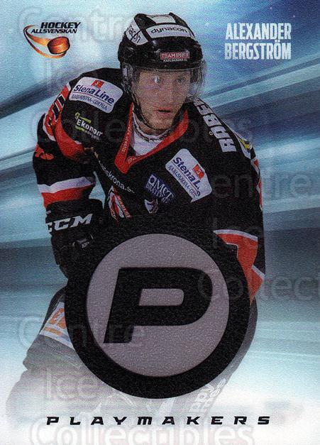 2013-14 Swedish Hockey Allsvenskan Playmakers #6 Alexander Bergstrom<br/>2 In Stock - $3.00 each - <a href=https://centericecollectibles.foxycart.com/cart?name=2013-14%20Swedish%20Hockey%20Allsvenskan%20Playmakers%20%236%20Alexander%20Bergs...&quantity_max=2&price=$3.00&code=660978 class=foxycart> Buy it now! </a>