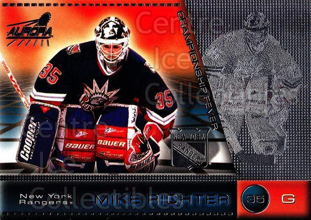 1998-99 Aurora Championship Fever Silver #31 Mike Richter<br/>1 In Stock - $5.00 each - <a href=https://centericecollectibles.foxycart.com/cart?name=1998-99%20Aurora%20Championship%20Fever%20Silver%20%2331%20Mike%20Richter...&quantity_max=1&price=$5.00&code=66111 class=foxycart> Buy it now! </a>