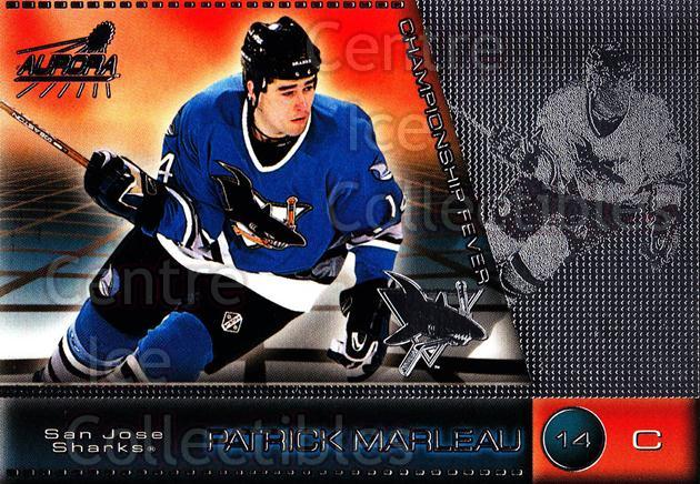 1998-99 Aurora Championship Fever Silver #43 Patrick Marleau<br/>2 In Stock - $5.00 each - <a href=https://centericecollectibles.foxycart.com/cart?name=1998-99%20Aurora%20Championship%20Fever%20Silver%20%2343%20Patrick%20Marleau...&quantity_max=2&price=$5.00&code=66121 class=foxycart> Buy it now! </a>
