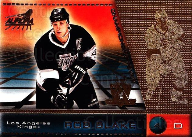1998-99 Aurora Championship Fever #23 Rob Blake<br/>7 In Stock - $1.00 each - <a href=https://centericecollectibles.foxycart.com/cart?name=1998-99%20Aurora%20Championship%20Fever%20%2323%20Rob%20Blake...&quantity_max=7&price=$1.00&code=66133 class=foxycart> Buy it now! </a>
