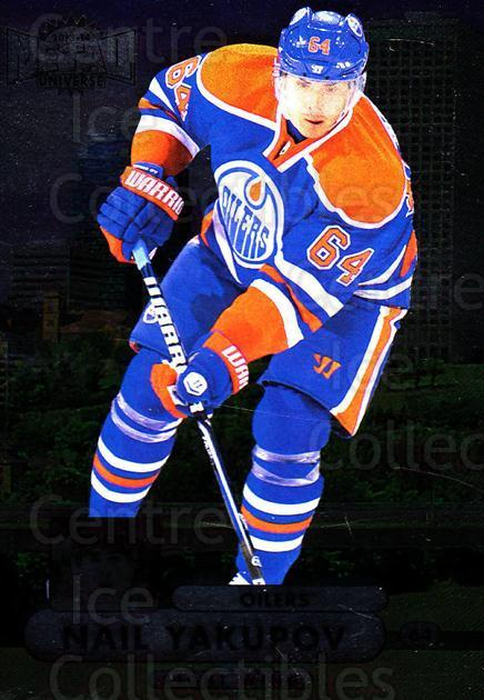 2013-14 Fleer Showcase Metal Universe #8 Nail Yakupov<br/>1 In Stock - $2.00 each - <a href=https://centericecollectibles.foxycart.com/cart?name=2013-14%20Fleer%20Showcase%20Metal%20Universe%20%238%20Nail%20Yakupov...&quantity_max=1&price=$2.00&code=661962 class=foxycart> Buy it now! </a>