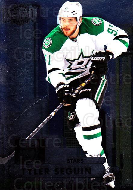 2013-14 Fleer Showcase Metal Universe #15 Tyler Seguin<br/>1 In Stock - $3.00 each - <a href=https://centericecollectibles.foxycart.com/cart?name=2013-14%20Fleer%20Showcase%20Metal%20Universe%20%2315%20Tyler%20Seguin...&quantity_max=1&price=$3.00&code=661969 class=foxycart> Buy it now! </a>