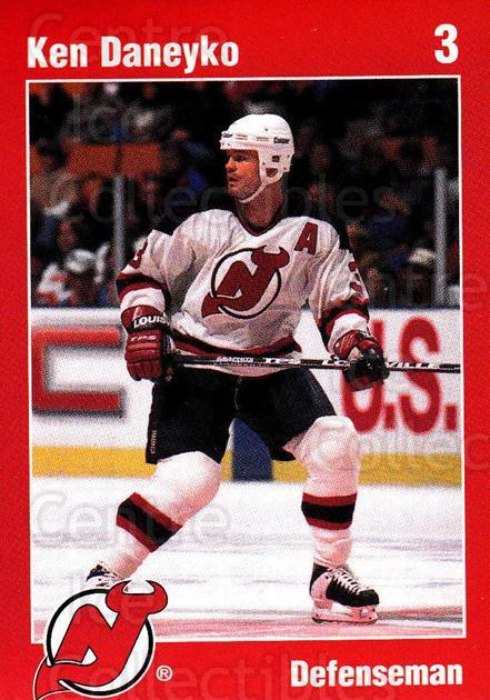 1996-97 New Jersey Devils Team Issue #7 Ken Daneyko<br/>2 In Stock - $3.00 each - <a href=https://centericecollectibles.foxycart.com/cart?name=1996-97%20New%20Jersey%20Devils%20Team%20Issue%20%237%20Ken%20Daneyko...&quantity_max=2&price=$3.00&code=661998 class=foxycart> Buy it now! </a>