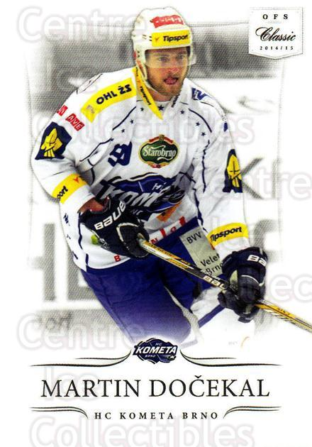 2014-15 Czech OFS Classic #361 Martin Docekal<br/>3 In Stock - $2.00 each - <a href=https://centericecollectibles.foxycart.com/cart?name=2014-15%20Czech%20OFS%20Classic%20%23361%20Martin%20Docekal...&quantity_max=3&price=$2.00&code=662499 class=foxycart> Buy it now! </a>
