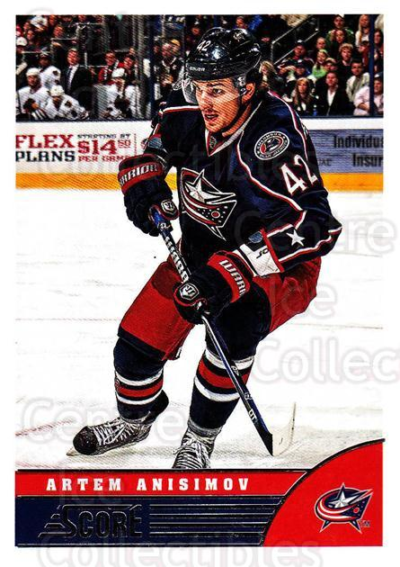 2013-14 Score #139 Artem Anisimov<br/>4 In Stock - $1.00 each - <a href=https://centericecollectibles.foxycart.com/cart?name=2013-14%20Score%20%23139%20Artem%20Anisimov...&quantity_max=4&price=$1.00&code=662677 class=foxycart> Buy it now! </a>