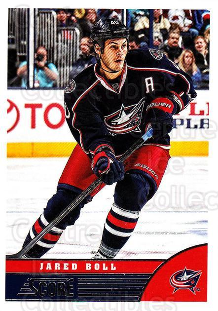 2013-14 Score #143 Jared Boll<br/>4 In Stock - $1.00 each - <a href=https://centericecollectibles.foxycart.com/cart?name=2013-14%20Score%20%23143%20Jared%20Boll...&price=$1.00&code=662681 class=foxycart> Buy it now! </a>