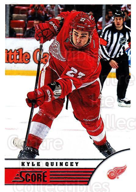 2013-14 Score #174 Kyle Quincey<br/>3 In Stock - $1.00 each - <a href=https://centericecollectibles.foxycart.com/cart?name=2013-14%20Score%20%23174%20Kyle%20Quincey...&quantity_max=3&price=$1.00&code=662712 class=foxycart> Buy it now! </a>