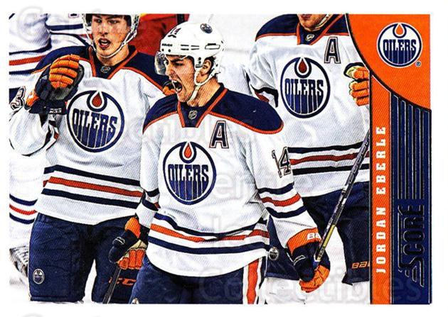 2013-14 Score #181 Jordan Eberle<br/>4 In Stock - $1.00 each - <a href=https://centericecollectibles.foxycart.com/cart?name=2013-14%20Score%20%23181%20Jordan%20Eberle...&quantity_max=4&price=$1.00&code=662719 class=foxycart> Buy it now! </a>
