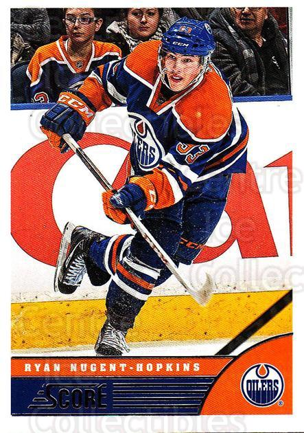 2013-14 Score #183 Ryan Nugent-Hopkins<br/>3 In Stock - $1.00 each - <a href=https://centericecollectibles.foxycart.com/cart?name=2013-14%20Score%20%23183%20Ryan%20Nugent-Hop...&price=$1.00&code=662721 class=foxycart> Buy it now! </a>