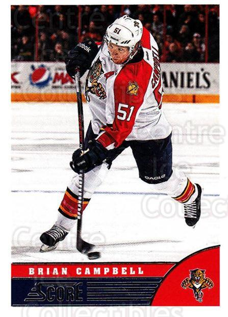 2013-14 Score #200 Brian Campbell<br/>4 In Stock - $1.00 each - <a href=https://centericecollectibles.foxycart.com/cart?name=2013-14%20Score%20%23200%20Brian%20Campbell...&quantity_max=4&price=$1.00&code=662738 class=foxycart> Buy it now! </a>