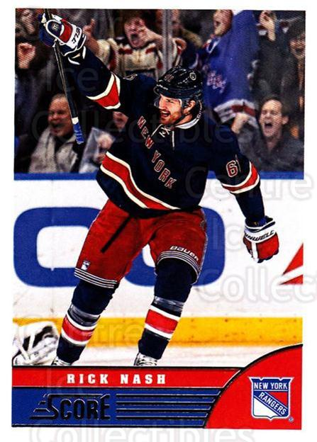 2013-14 Score #329 Rick Nash<br/>4 In Stock - $1.00 each - <a href=https://centericecollectibles.foxycart.com/cart?name=2013-14%20Score%20%23329%20Rick%20Nash...&quantity_max=4&price=$1.00&code=662867 class=foxycart> Buy it now! </a>