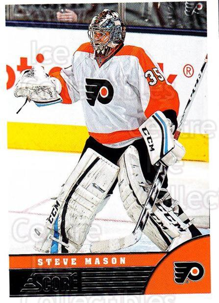 2013-14 Score #378 Steve Mason<br/>4 In Stock - $1.00 each - <a href=https://centericecollectibles.foxycart.com/cart?name=2013-14%20Score%20%23378%20Steve%20Mason...&quantity_max=4&price=$1.00&code=662916 class=foxycart> Buy it now! </a>