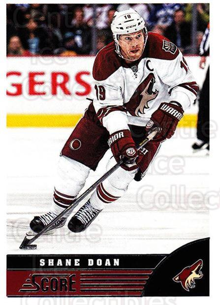 2013-14 Score #381 Shane Doan<br/>3 In Stock - $1.00 each - <a href=https://centericecollectibles.foxycart.com/cart?name=2013-14%20Score%20%23381%20Shane%20Doan...&quantity_max=3&price=$1.00&code=662919 class=foxycart> Buy it now! </a>