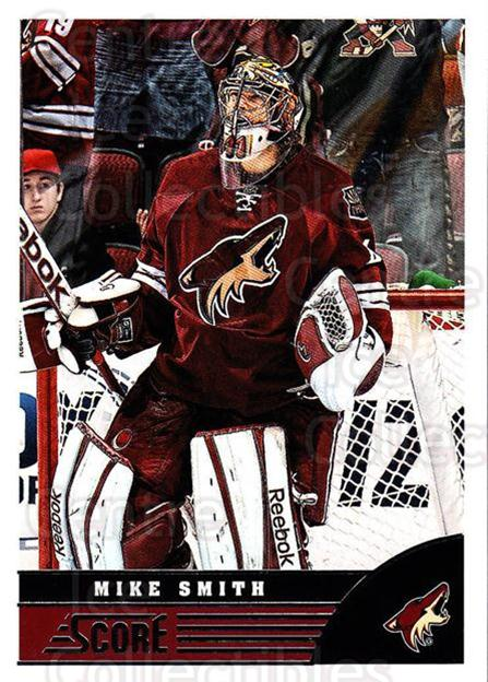 2013-14 Score #384 Mike Smith<br/>4 In Stock - $1.00 each - <a href=https://centericecollectibles.foxycart.com/cart?name=2013-14%20Score%20%23384%20Mike%20Smith...&quantity_max=4&price=$1.00&code=662922 class=foxycart> Buy it now! </a>