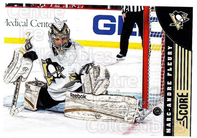 2013-14 Score #401 Marc-Andre Fleury<br/>3 In Stock - $2.00 each - <a href=https://centericecollectibles.foxycart.com/cart?name=2013-14%20Score%20%23401%20Marc-Andre%20Fleu...&quantity_max=3&price=$2.00&code=662939 class=foxycart> Buy it now! </a>
